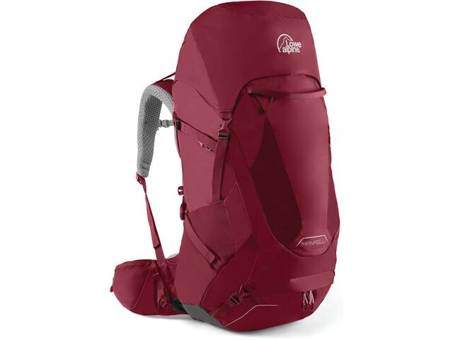 Lowe Alpine Manaslu Backpack ND50l Dam raspberry